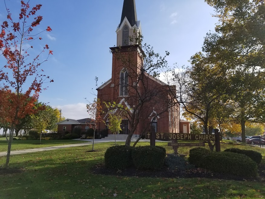 St. Joseph Church in Mercer County, Ohio
