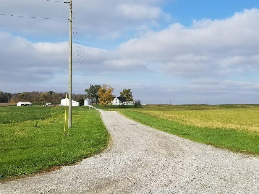 Farm house in Mercer County Ohio near St. Joseph Catholic church.