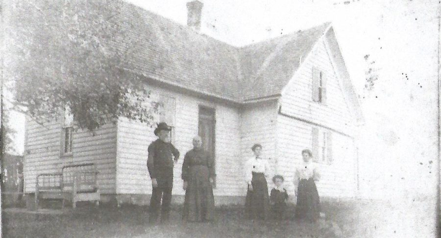 Joseph Eifert's home in Mercer County Ohio Around 1905